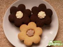 Ciasteczka z mleczną masą