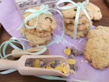 Ciasteczka z musli i cukrem trzcinowym