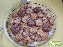 Ciasteczka z płatków owsianych.