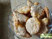 Ciasteczka z sezamemi serem białym
