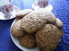 Ciasteczka z siemieniem lnianym