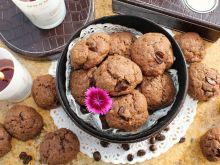 Ciastka czekoladowo-kawowe z nutą pomarańczy
