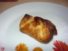 Ciastka francuskie z białą czekoladą