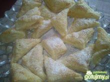 Ciastka francuskie z brzoskwiniami od Ha