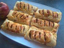 Ciastka francuskie z jabłkami i cynamonem