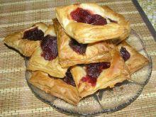 Ciastka francuskie z marmolada