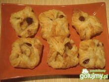 Ciastka francuskie z owocami 2