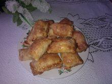 Ciastka francuskie z rabarbarem i marcepanem