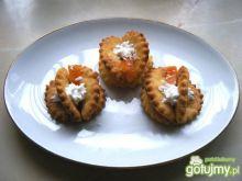 Ciastka kokosowe motylki