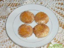 Ciastka kokosowe z brzoskwinią