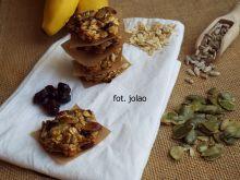 Ciastka owsiane z pestkami dyni i słonecznikiem