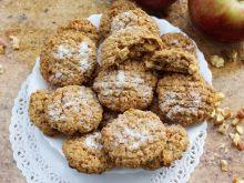 Ciastka owsiano-kokosowe z suszonymi jabłkami