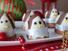 Ciastka -pingwinki bez pieczenia