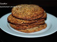 Ciastka sezamowo - orzechowe