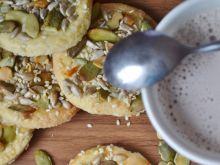 Ciastka z pestkami dyni i słonecznika