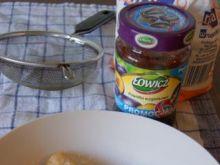 Ciastko-pierożki z powidłami