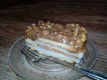 Ciasto z kaszy manny z orzechami