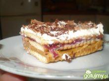 Ciasto 3-bit z dżemem z czanej porzeczki