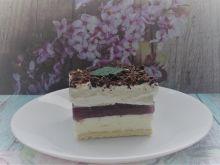 Ciasto a'la milki way (bez pieczenia)