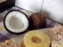 Ciasto ananasowo-kokosowe.