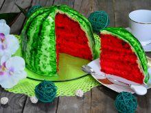 Pyszne ciasto arbuz