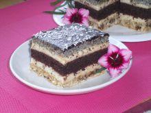 Ciasto bakaliowe z kremem rumowym