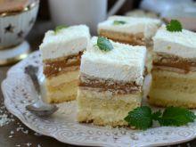 Ciasto balowe z kremem