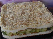 Ciasto bez pieczenia z nutką jabłkową