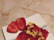 Ciasto bezglutenowe z truskawkami