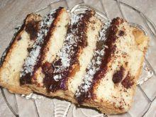 Ciasto białkowe z imbirem