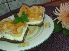 Ciasto biszkoptowe z bananem i galaretką