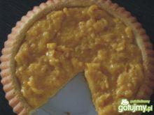 Ciasto biszkoptowe z kremem mandarynkowy
