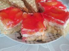 Ciasto biszkoptowe z mandarynkami
