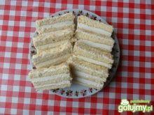 Ciasto biszkoptowe z masą