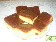 Ciasto biszkoptowo -śliwkowe