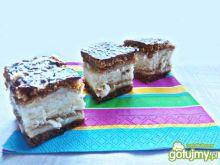 Ciasto biszoptowo- piernikowe z masą