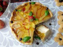 Ciasto brzoskwiniowe na zimno