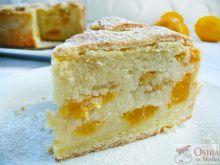 Ciasto brzoskwiniowe z kaszy manny