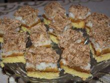 Ciasto brzoskwiniowe z kokosami