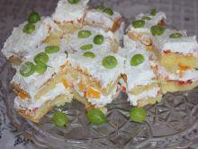 Ciasto brzoskwiniowo-agrestowe