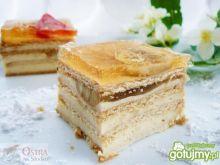 Ciasto budyniowe bez pieczenia