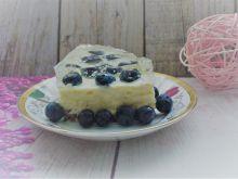 Ciasto budyniowe z owocami