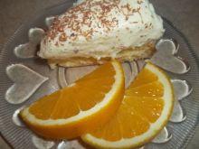 Ciasto budyniowe z pomarańczą
