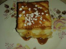 Ciasto budyniowo – brzoskwiniowe