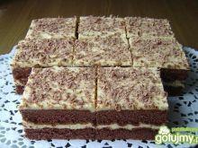 Ciasto Budyniowo - Chałwowe