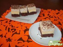 Ciasto budyniowo-kawowe