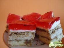 Ciasto cappucino z galaretką