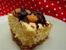 Ciasto capuccino z kremem na mleku w proszku
