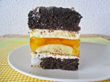 Ciasto Caryca z brzoskwiniami
