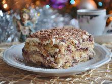 Ciasto chałwowe na zimno